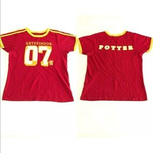 Harry Potter Gryffindor Jersey Shirt  (Adult S)